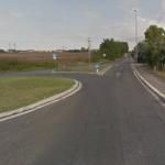 Incrocio di Via Lucrezia Romana con Via delle Capannelle